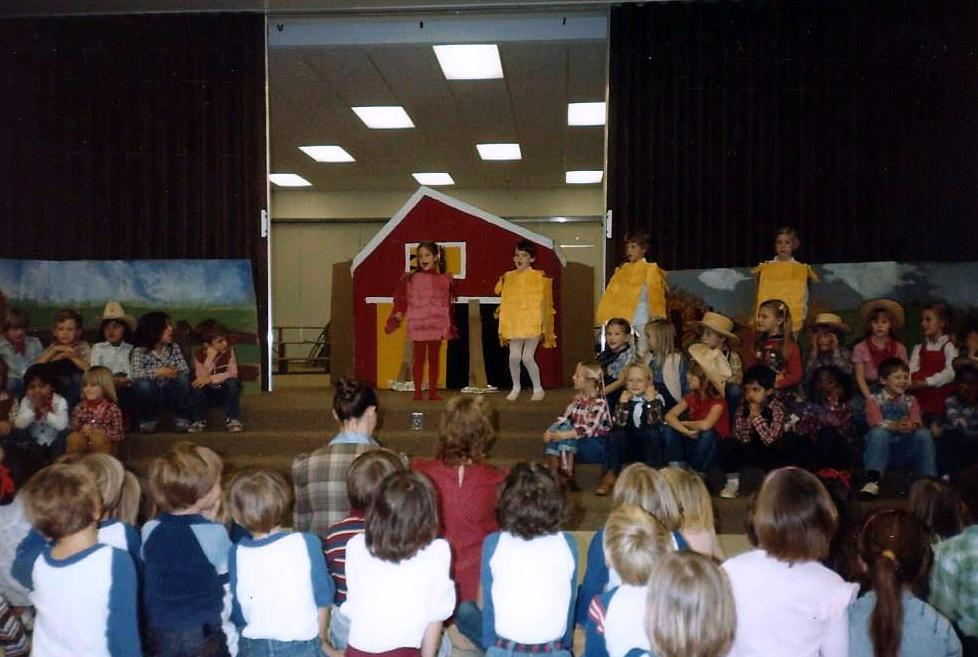 little red hen play